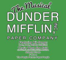 Dunder Mifflin, Inc (The Musical) Kids Tee