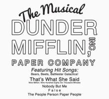 Dunder Mifflin, Inc (The Musical) Kids Clothes