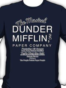 Dunder Mifflin, Inc (The Musical) T-Shirt