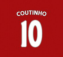 Liverpool - Coutinho (10) by Thomas Stock