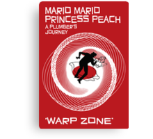 Warp Zone Canvas Print
