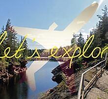 Let's Explore: Vuoksi Midday by AlexPrints