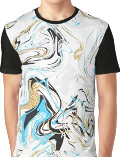 Marble pattern. Graphic T-Shirt