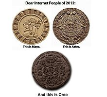 In today's world OREO ! :) by buucos
