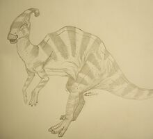 Parasaurlophus by bluemagic