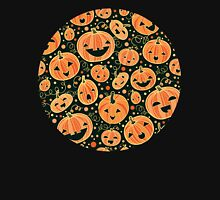 Fun Halloween pumpkins pattern Unisex T-Shirt