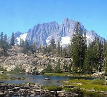 Island Pass, John Muir Trail by Tamijo