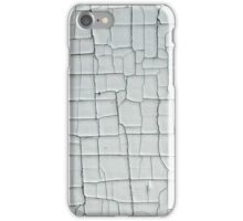Cracked and Chipped White Paint iPhone Case/Skin