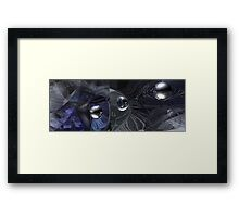 The Bigger Picture Framed Print