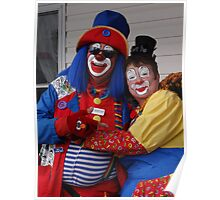 Mr and Mrs Clown Poster