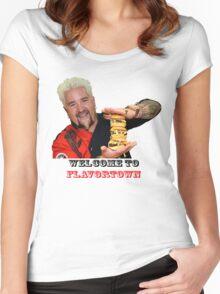 Guy Fieri Sliders Women's Fitted Scoop T-Shirt