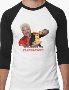 Guy Fieri Sliders Men's Baseball ¾ T-Shirt