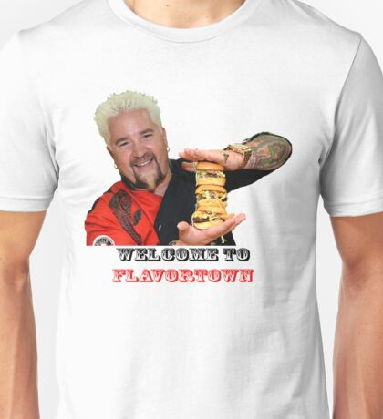 Guy Fieri Sliders Unisex T-Shirt