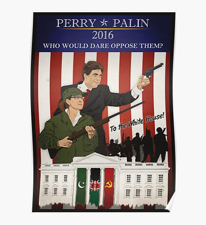 Perry/Palin 2016 Poster