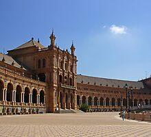 Sevilla Plaza de Espana by Aase