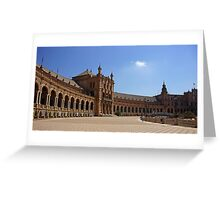Sevilla Plaza de Espana Greeting Card