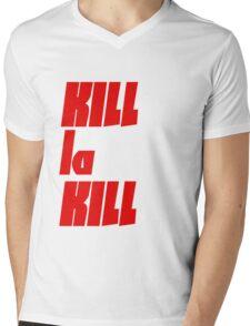 KILL la KILL - Vertical Mens V-Neck T-Shirt