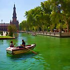 Plaza de Espana by Aase