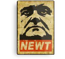 Newt has a posse Metal Print