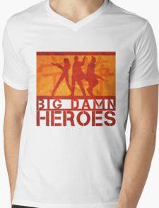 Big Damn Heroes Mens V-Neck T-Shirt