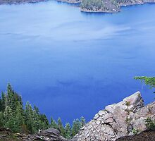 Deep Blue of Crater Lake by 319media