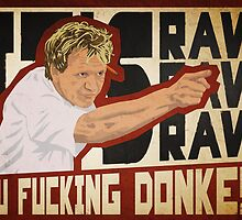 You fucking donkey! by Bas van Oerle
