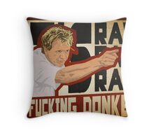 You fucking donkey! Throw Pillow