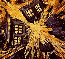 Doctor Who- Exploding Tardis by SimranJ