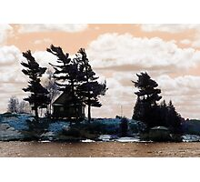 Thousand Islands Cottage Canada Photographic Print