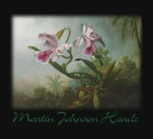 Martin Johnson Heade - Orchid and Hummingbirds Kids Clothes