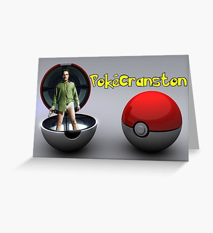 PokéCranston Greeting Card