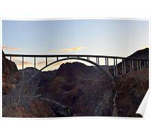 Hoover Dam Bypass Bridge Poster