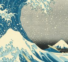 Hokusai - Under the Wave off Kanagawa Sticker