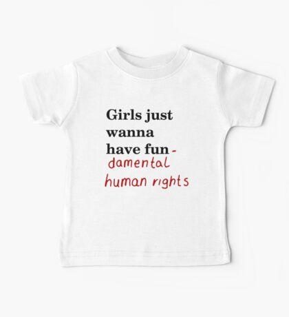 Fundamental human rights Baby Tee
