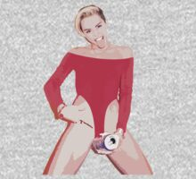Miley Cyrus Beer Can - Red Version #2 by FergalMcCabe
