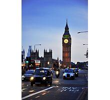 London Traffic Photographic Print