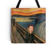 "Misha Collins- ""The Scream"" Tote Bag"
