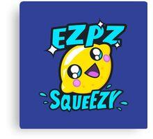 Ezpz Lemon Squeezy v2 Canvas Print