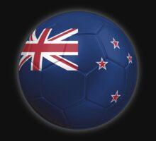New Zealand Flag - Football or Soccer 2 by graphix