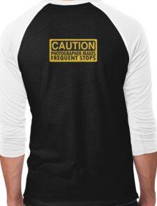 Caution, photographer on duty Men's Baseball ¾ T-Shirt