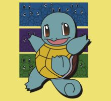 Pokemon Squirtle Color Shirt by jeice27