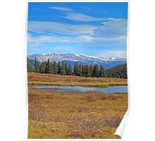 James Peak Wilderness from Guanella Pass 2  Poster