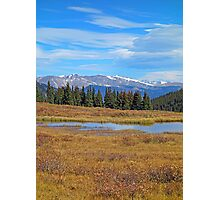 James Peak Wilderness from Guanella Pass 2  Photographic Print