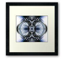 Hour Glass Framed Print