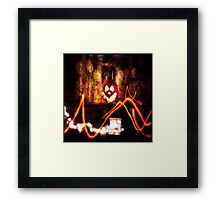 Somebody's Watching Me Framed Print