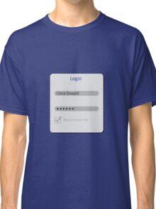 Remember Me Classic T-Shirt