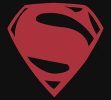 Superboy Man of Steel Logo by MikeCotopolis