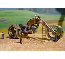 Diorama5 : Watch Parts Motorcycles Photographic Print