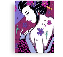 Kuriously Kawaii Canvas Print