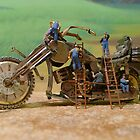 Diorama9 : Watch Parts Motorcycles by OfficialWPM